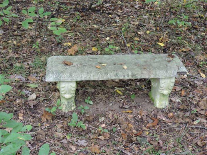 Myrtle Simon Pelot Sanctuary - Bench