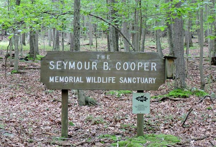 Seymour B. Cooper Sanctuary - Welcome Sign